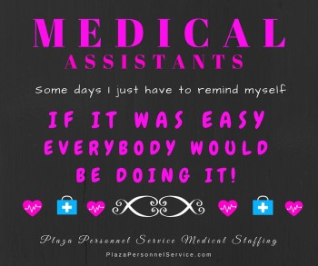 Medical Assistant staffing agency in San Diego. Plaza Personnel Service Medical Staffing