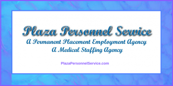 Medical Staffing Agencies San Diego Plaza Personnel Service