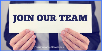 PlazaPersonnelService.com Plaza Personnel Service Medical Staffing Agency San Diego. Join our team