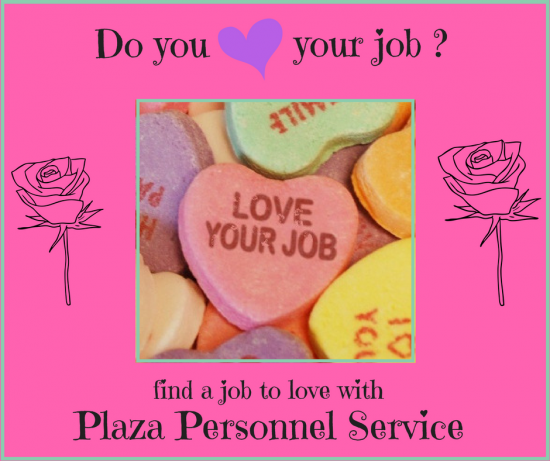PlazaPersonnelService love your job medical staffing in san dieg0