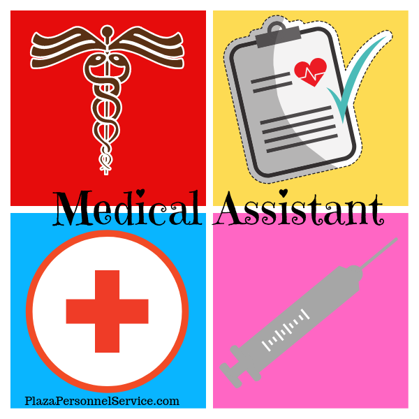 medical assistant jobs in San Diego, Plaza Personnel Service Medical Staffing agency