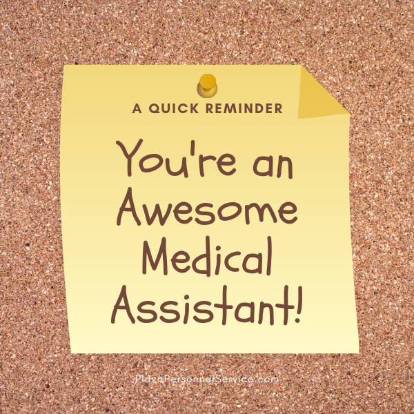 Plaza Personnel Service Medical Assistant staffing employment agency in San Diego, Ca