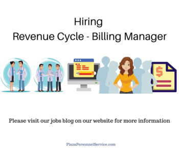 Hiring revenue Cycle - Billing Manager